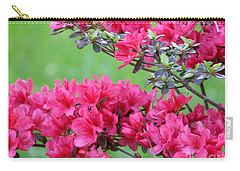 Carry-all Pouch featuring the photograph Azalea by Andrea Anderegg