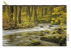 Babbling Brook Carry-all Pouch by Fran Gallogly