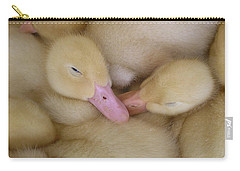 Baby Ducklings Carry-all Pouch by Randy J Heath