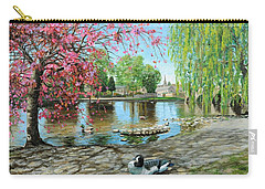 Bakewell Bridge - Derbyshire Carry-all Pouch by Trevor Neal