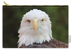 Carry-all Pouch featuring the photograph Bald Eagle by Coby Cooper