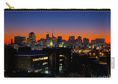 Carry-all Pouch featuring the photograph Baltimore At Sunset by Mark Dodd