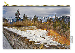 Carry-all Pouch featuring the photograph Banff Scene by Johanna Bruwer