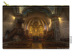 Baroque Church In Savoire France Carry-all Pouch by Clare Bambers