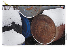 Carry-all Pouch featuring the photograph Barrel Of Food by Tiffany Erdman