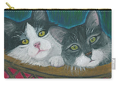 Basket Of Kitties Carry-all Pouch