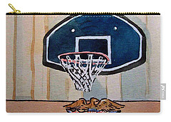 Basketball Hoop Sketchbook Project Down My Street Carry-all Pouch