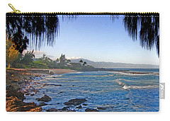 Beach On North Shore Of Oahu Carry-all Pouch