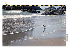 Beachcomber Carry-all Pouch by Sharon Elliott
