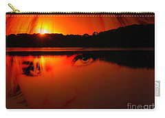 Beauty Looks Back Carry-all Pouch by Clayton Bruster