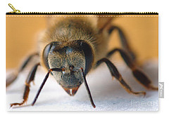 Bee In Macro 4 Carry-all Pouch