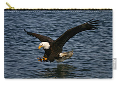 Carry-all Pouch featuring the photograph Before The Strike by Doug Lloyd