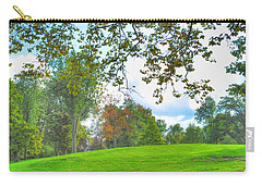 Carry-all Pouch featuring the photograph Beginning Of Fall by Michael Frank Jr