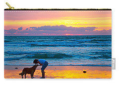 Carry-all Pouch featuring the photograph Bella At Sunrise by Alice Gipson