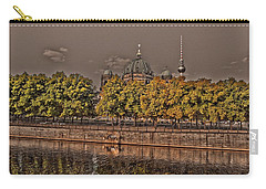 Carry-all Pouch featuring the photograph Berlin Cathedral ... by Juergen Weiss