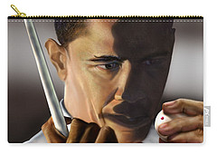 Obama Beyond Shark Waters Carry-all Pouch