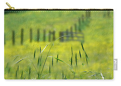 Carry-all Pouch featuring the photograph Beyond The Weeds by EricaMaxine  Price