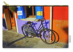 Bicycle Stance Burano Italy Carry-all Pouch