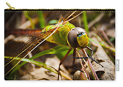 Big Brown Eyes Carry-all Pouch by Cheryl Baxter