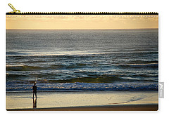 Carry-all Pouch featuring the photograph Big Ocean  by Eric Tressler
