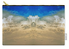 Big Ol Clouds Panorama Carry-all Pouch