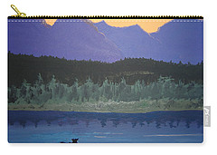 Carry-all Pouch featuring the painting Big Sky Country by Norm Starks