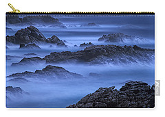 Carry-all Pouch featuring the photograph Big Sur Mist by William Lee