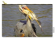 Bigger Fish To Fry Carry-all Pouch by Robert Frederick