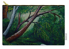 Bird In The Swamp Carry-all Pouch