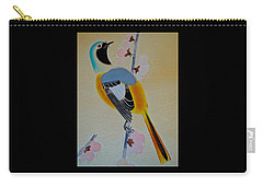 Bird Print Carry-all Pouch