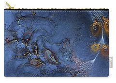 Carry-all Pouch featuring the digital art Birth Of The Cool by Casey Kotas