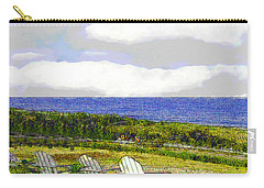 Block Island Sea Chairs Carry-all Pouch