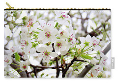 Carry-all Pouch featuring the photograph Blooming Ornamental Tree by Kay Novy