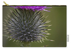 Blooming Thistle Carry-all Pouch