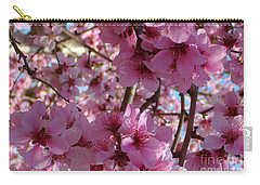 Carry-all Pouch featuring the photograph Blossoms by Lydia Holly