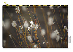 Carry-all Pouch featuring the photograph Blowing In The Wind by Vicki Pelham