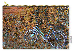 Blue Bike Carry-all Pouch
