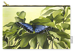 Blue Butterfly Of Branson Carry-all Pouch