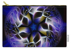 Blue Creation Carry-all Pouch by Danuta Bennett