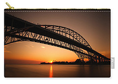 Carry-all Pouch featuring the photograph Blue Dawn by Gordon Dean II