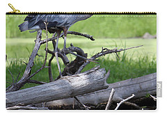 Blue Heron At The Lake Carry-all Pouch