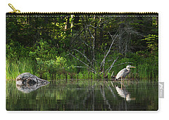 Blue Heron Long Pond Wmnf Carry-all Pouch