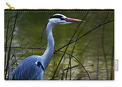 Blue Heron Vondelpark Amsterdam Carry-all Pouch