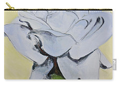 Blue Rose-3-posthumously Presented Paintings Of Sachi Spohn  Carry-all Pouch