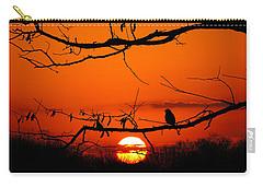Bluebird Dawn Carry-all Pouch