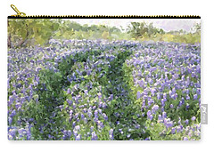 Bluebonnet Trail Carry-all Pouch