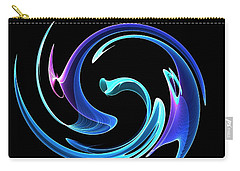 Dancing Blues Carry-all Pouch by Maciek Froncisz