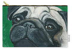 Bo The Pug Carry-all Pouch