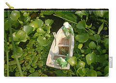 Carry-all Pouch featuring the photograph Boating With Friends by Bonfire Photography