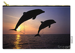 Bottlenose Dolphins Carry-all Pouch by Francois Gohier and Photo Researchers
